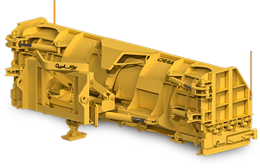 Craig Folding Wing Plow for Wheel Loaders and Backhoes