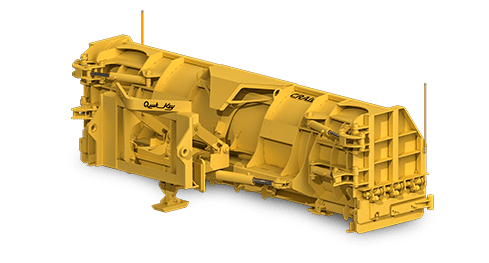 Wheel Loader Folding Wing Plow