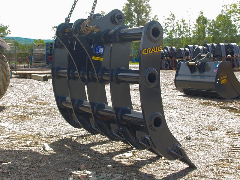 Craig Excavator Brush Rake – Craig Manufacturing