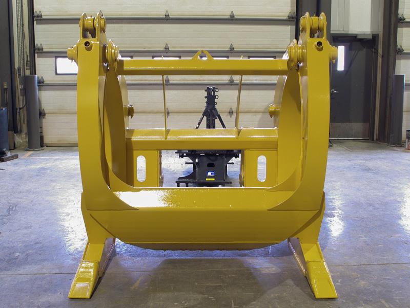 Wheel Loader Saw Log Grapple – Craig Manufacturing